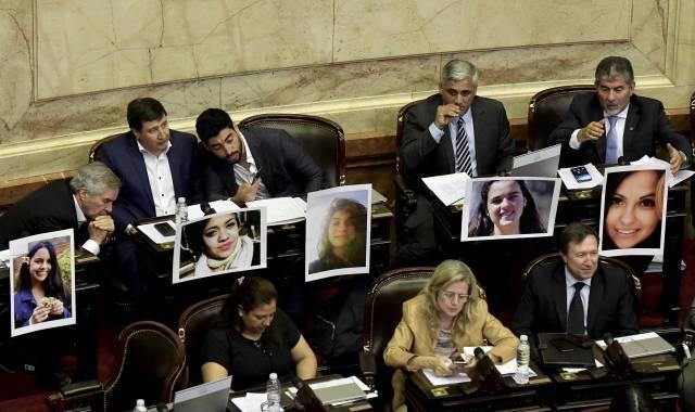 Movimento feminista 'Me Too' argentino chega à política