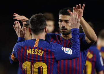 Barcelona - Eibar: el partido de la Liga Santander, en imágenes