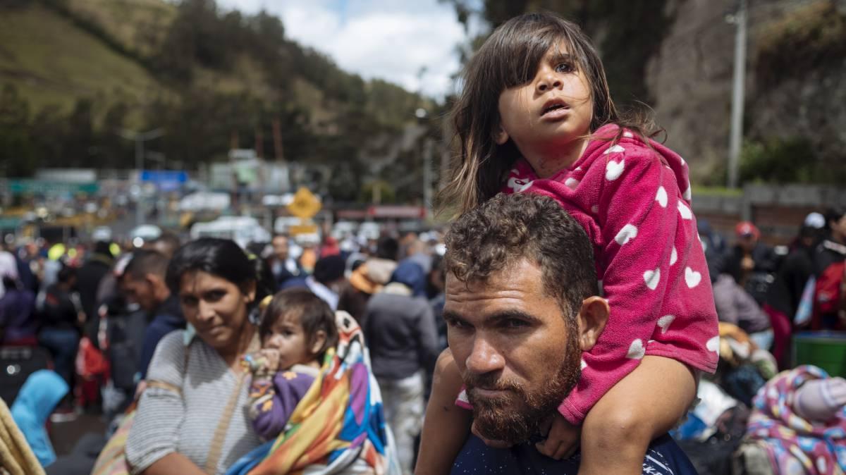 La crisis venezolana entra en la lista de emergencias para la infancia de 2019