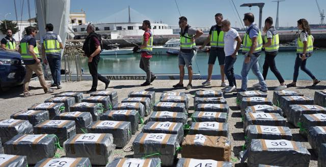 Spain becomes Europe's top interceptor of cocaine