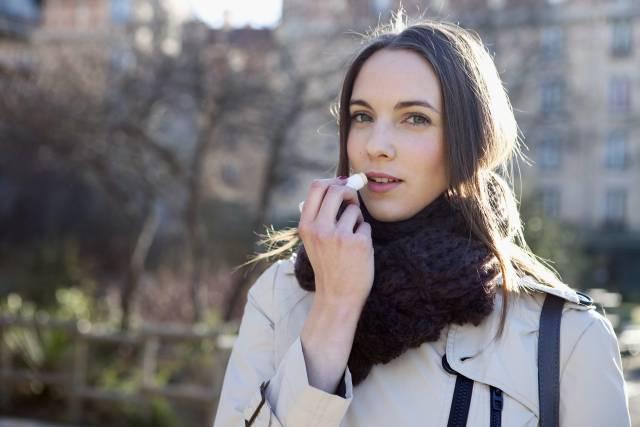 Cosmética para proteger la piel del frío