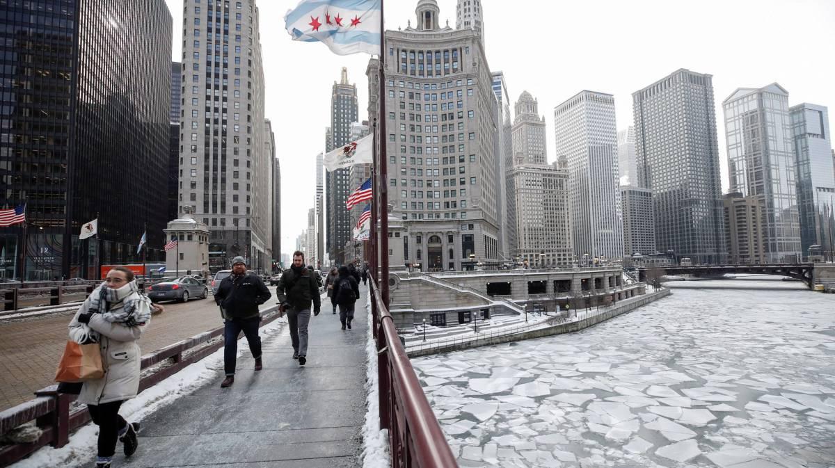 Una ola de frío extraordinario congela parte de EE UU