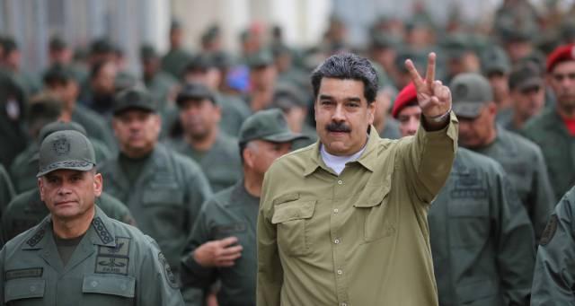 El camino de Maduro