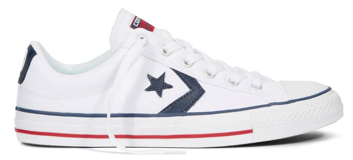 zapatillas mujer converse blancas piel