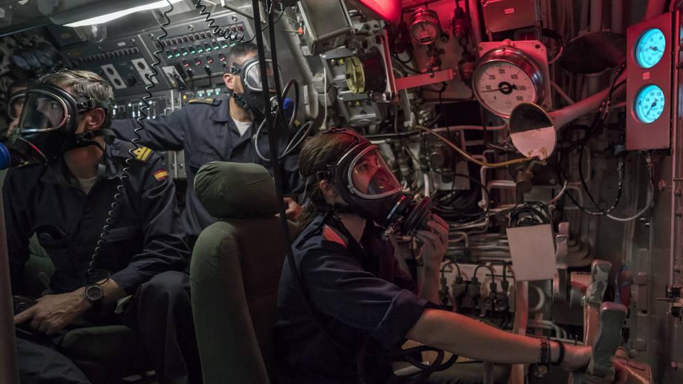 24 Horas En Un Submarino Dos Retretes Y 100 Metros