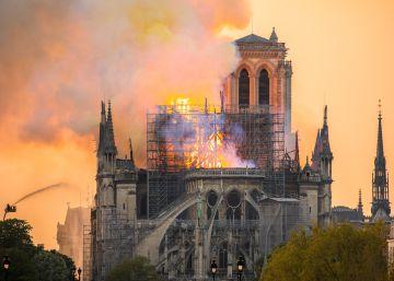 Notre Dame, herida