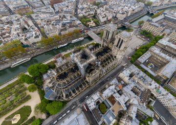 FOTO 360 | Así se ve la Catedral de Notre Dame tras el incendio