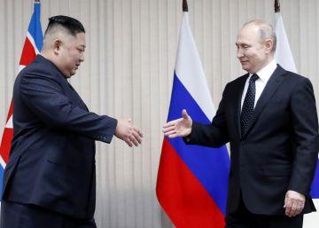 La cumbre entre Kim Jong-un y Vladimir Putin, en imágenes