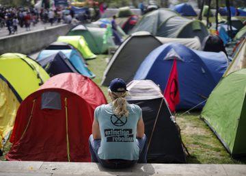 Las protestas ambientales de Extinction Rebellion, en imágenes