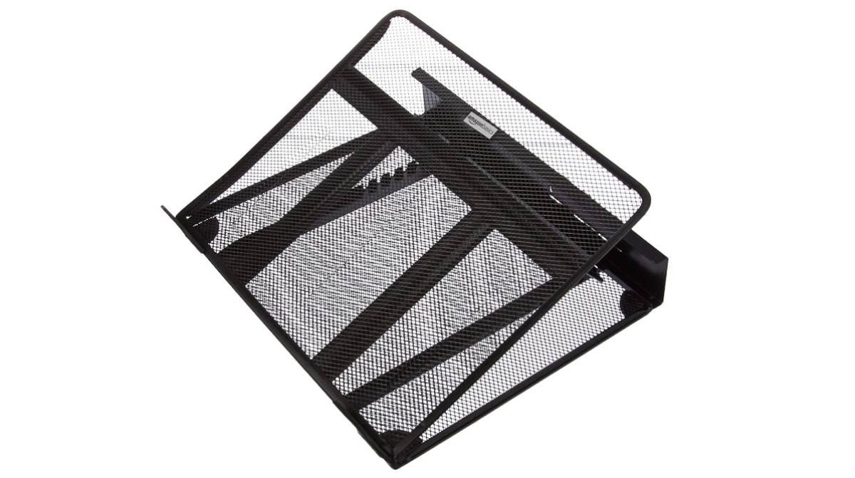 Negro Basics Set de 2 soportes ajustables de pared
