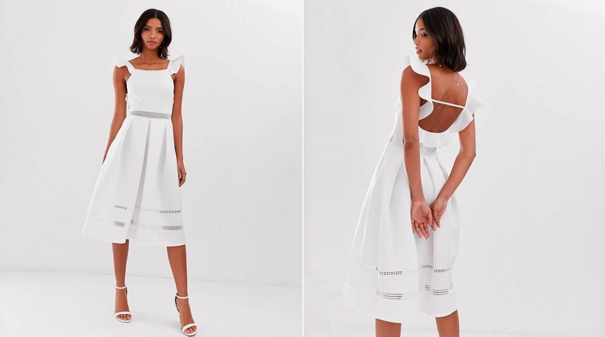 72eac5a51bb8 Vestidos blancos para llevar a la playa o para vestirte de novia por ...