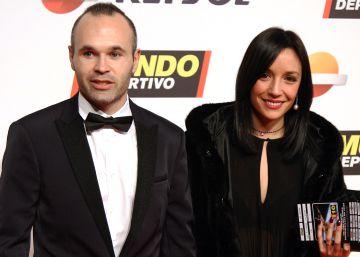 Andrés Iniesta da la bienvenida a su cuarto hijo