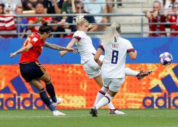 España - Estados Unidos, el Mundial de fútbol femenino en imágenes