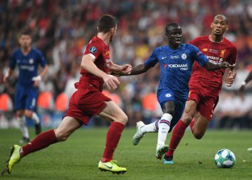 Liverpool - Chelsea, la final de la Supercopa de Europa 2019 en imágenes