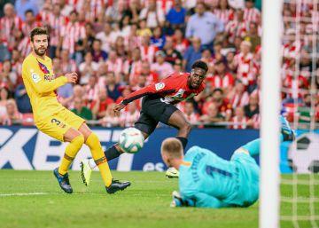 Athletic de Bilbao - Barcelona, el primer partido de LaLiga en imágenes