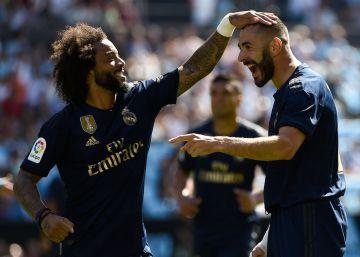 Celta-Real Madrid, las imágenes del partido de LaLiga