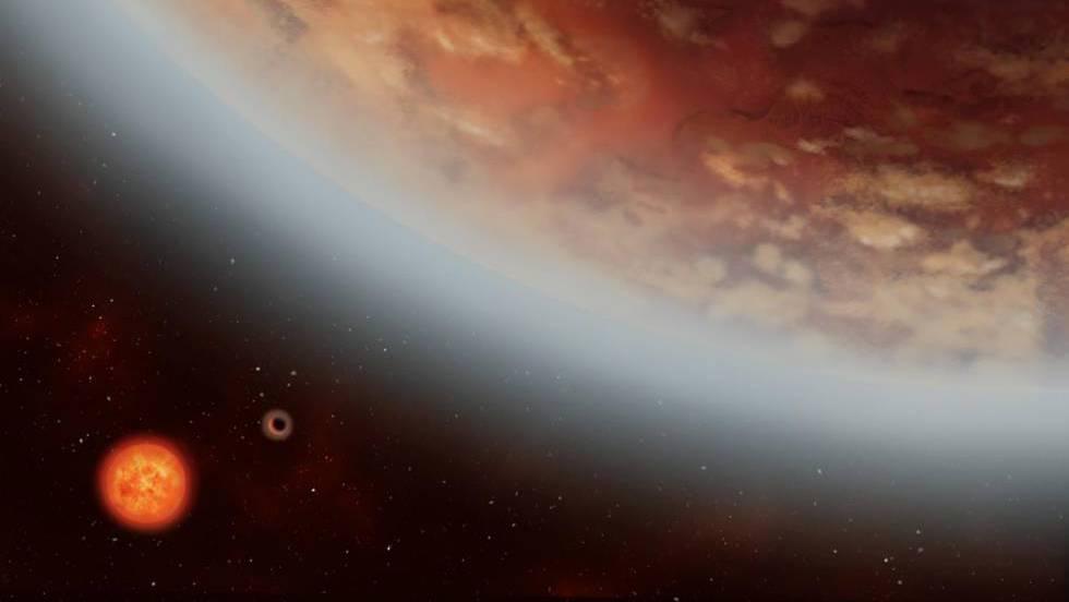 Detectada por primera vez agua en la atmósfera de una 'supertierra' en la  zona habitable | Ciencia | EL PAÍS