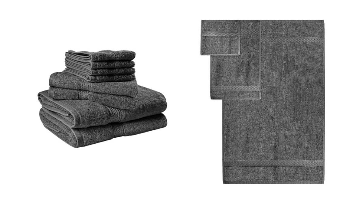 Juego de 8 toallas desde 19,99€