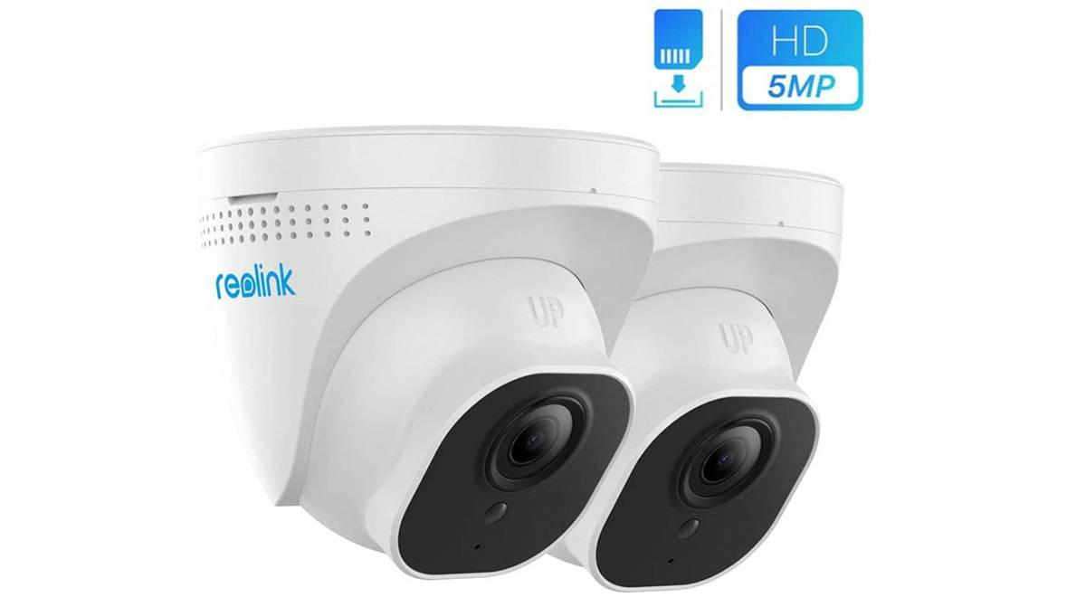 Pack cámaras de vigilancia por 98,59€
