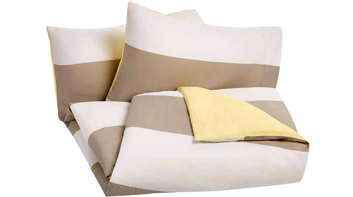 Ropa de cama fútbol 135x200 cm con alrededor de almohada