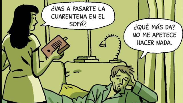 La cuarentena de Paco Roca