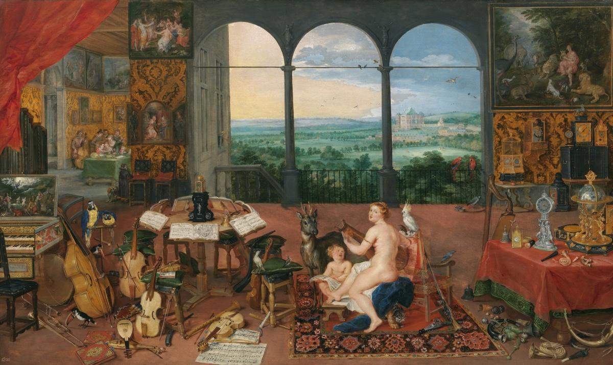 La música en las obras del Museo del Prado