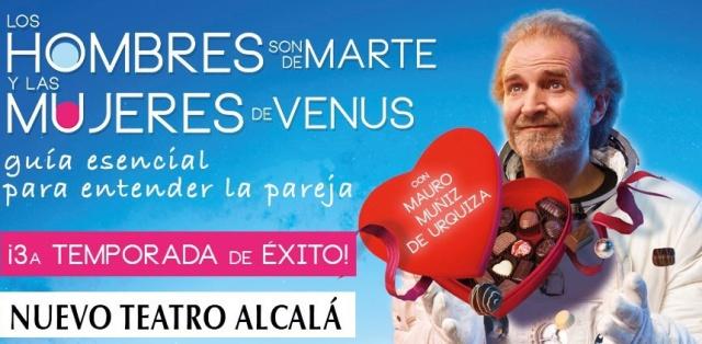 'Los hombres son de Marte y las mujeres de Venus'