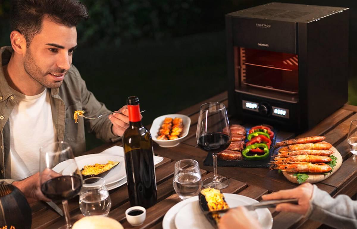 Amantes de la parrilla: este 'grill' eléctrico asa los alimentos en minutos y tiene un 44% de descuento