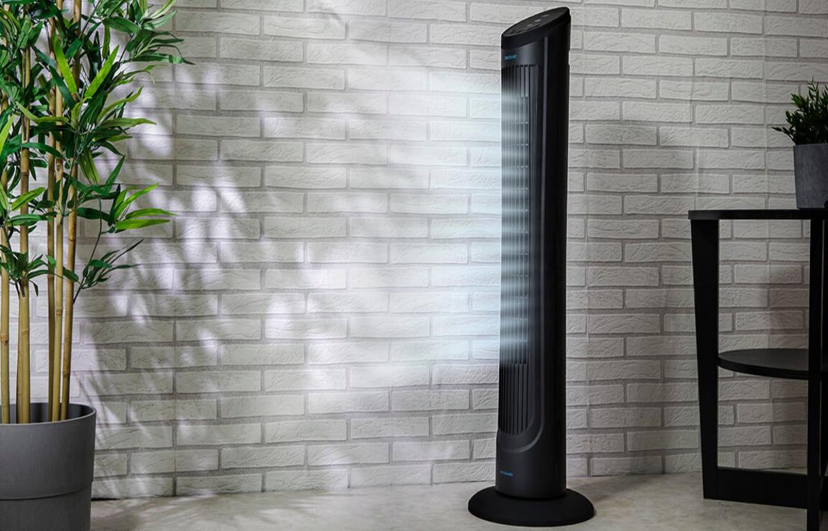 Prepárate para el calor con este ventilador programable y silencioso, rebajado al 50%