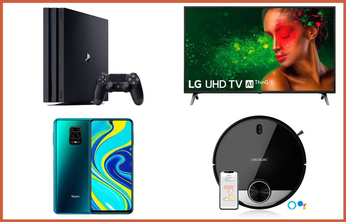 La PS4 Pro, el Redmi Note 9S y otras grandes ofertas en AliExpress con envío desde España