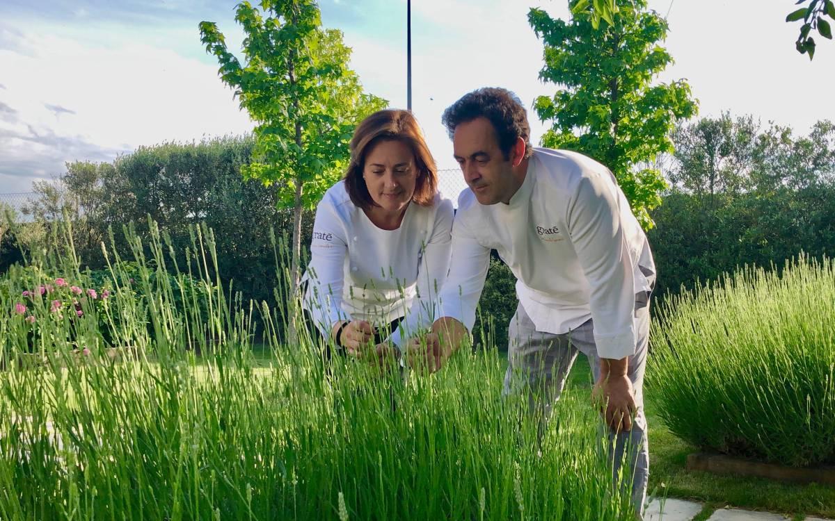 Angelines y Fernando Sáenz, la naturaleza en cucuruchos y tarrinas