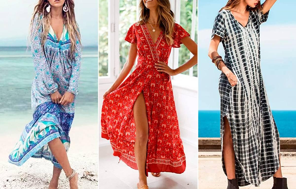 Los tres vestidos 'boho' de Amazon que serán virales este verano
