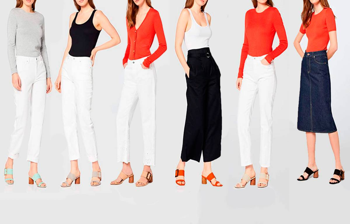 Nos hemos enamorado de estas sandalias estilosas y cómodas para llevar con faldas, vestidos o pantalones