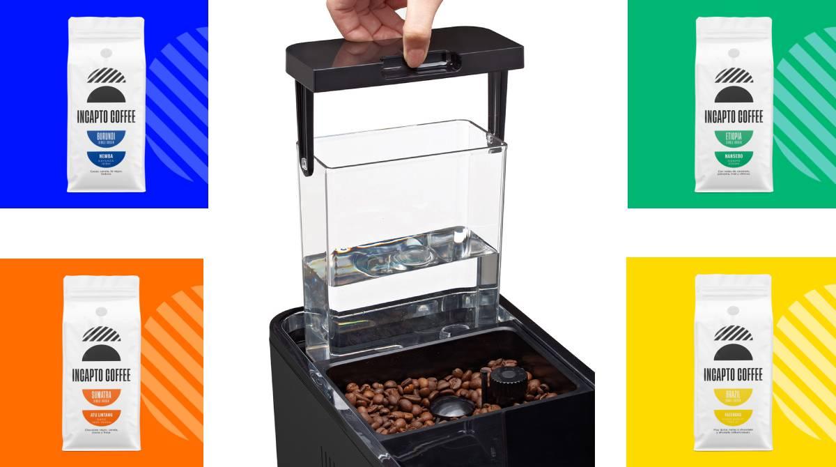 Olvida las cápsulas y ahorra todo el año con esta cafetera súper automática y su suscripción de café   Escaparate   EL PAÍS