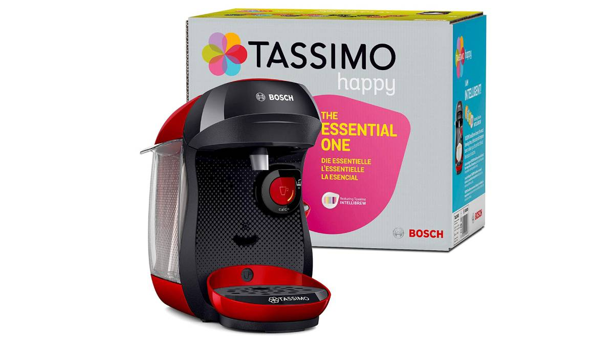 Cafetera de cápsulas Bosch de 1.400 vatios por 34€