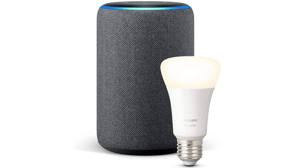 Altavoz Echo Plus y control de hogar por 109,99€