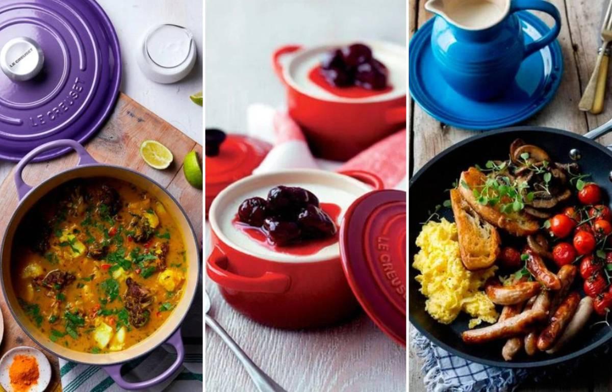 Aprovecha las rebajas de verano de hasta el 30% en productos de alta gama Le Creuset para tu cocina