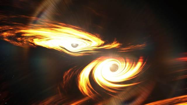Los científicos captan una enorme onda gravitacional que no debería existir