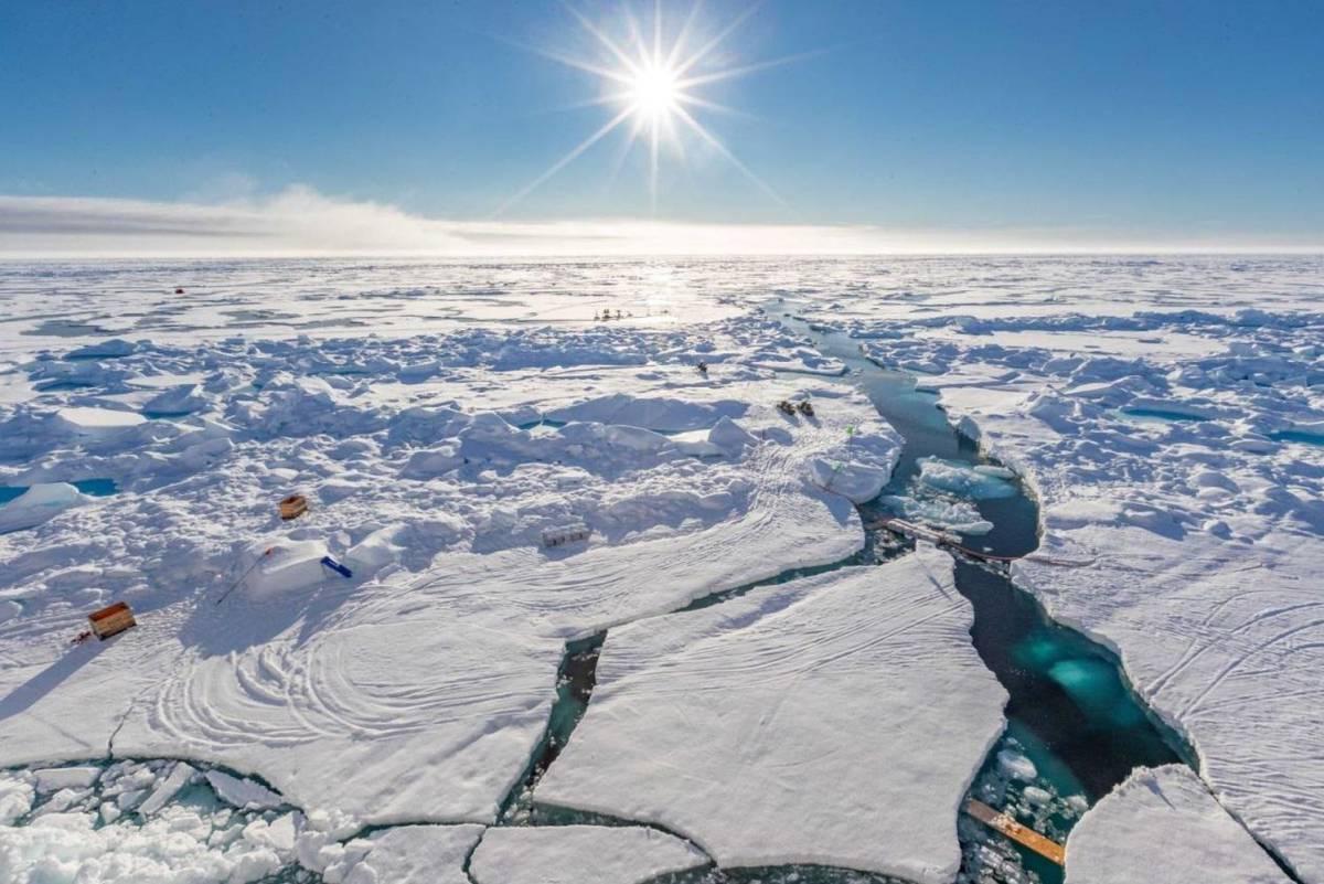 Cazando aerosoles en el aire polar