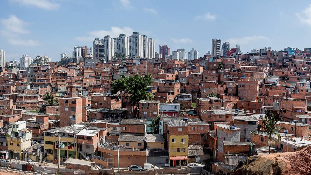 Una favela contra el virus