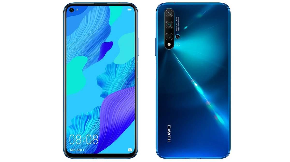 Huawei Nova 5T de 128 GB de memoria por 279,74€