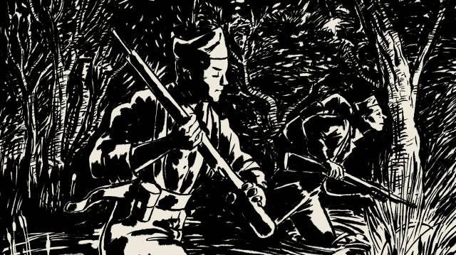 La guerra civil, en las trincheras