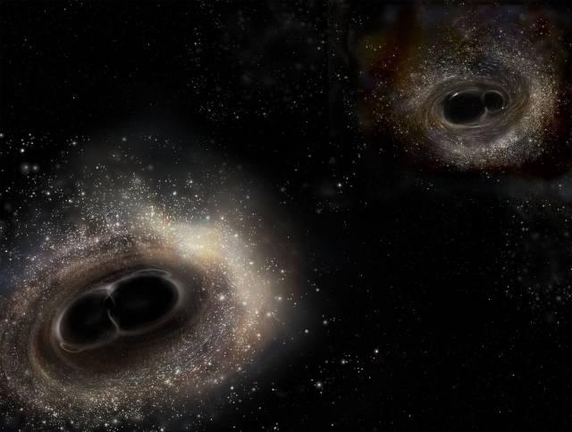 El universo puede contener millones de agujeros negros primordiales hechos de materia oscura