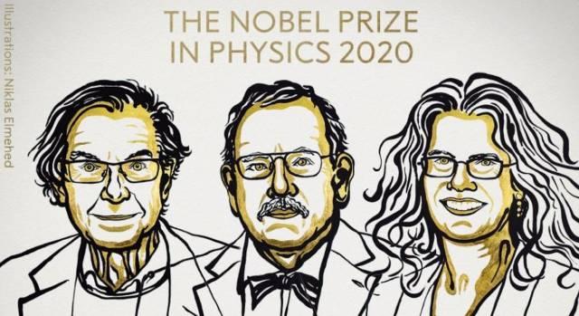 """Nobel de Física para tres investigadores de los agujeros negros y los """"secretos más oscuros del universo"""""""