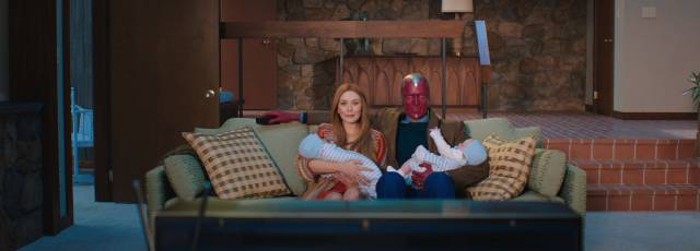 'Wandavision': superhéroes y risas enlatadas