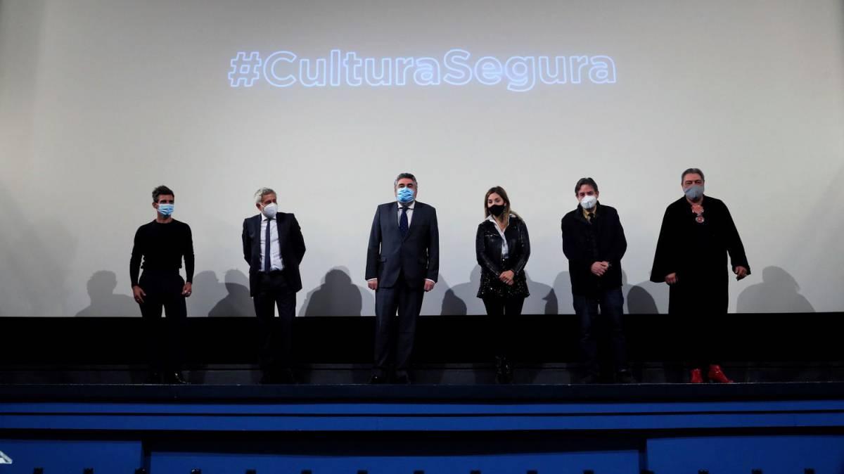 La cultura busca público con el reclamo de la seguridad