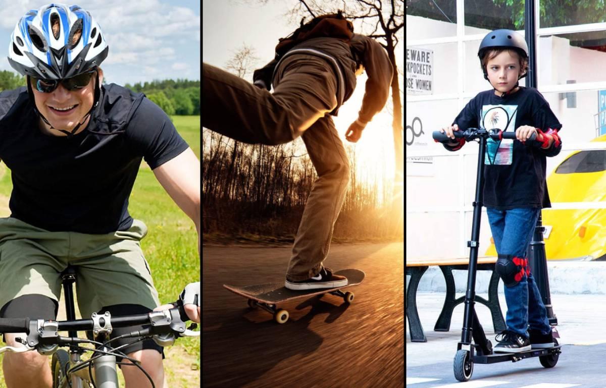 ¿Patinete o bicicleta? 15 productos y accesorios para movernos por la ciudad mientras hacemos deporte