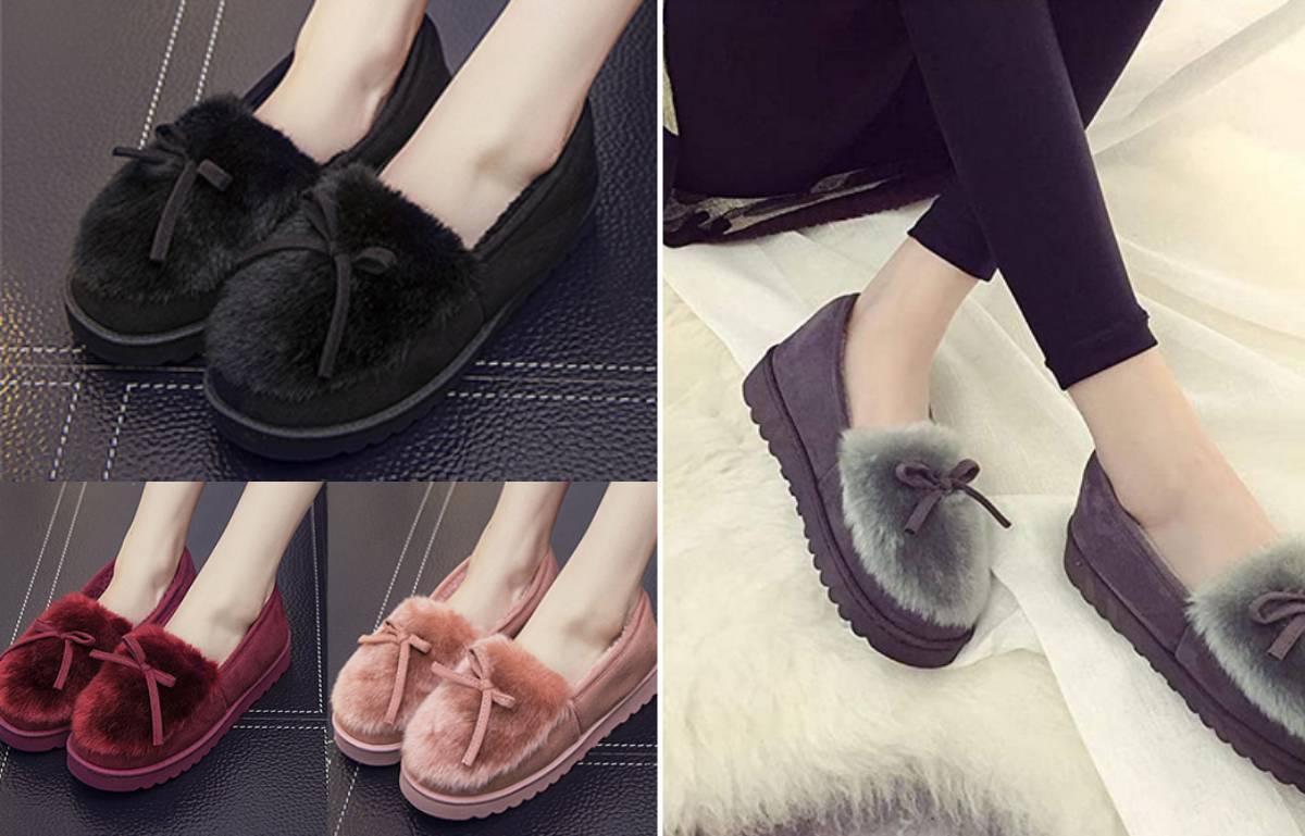 Abrígate los pies con las zapatillas más calentitas y cómodas para casa, a la venta en nueve colores