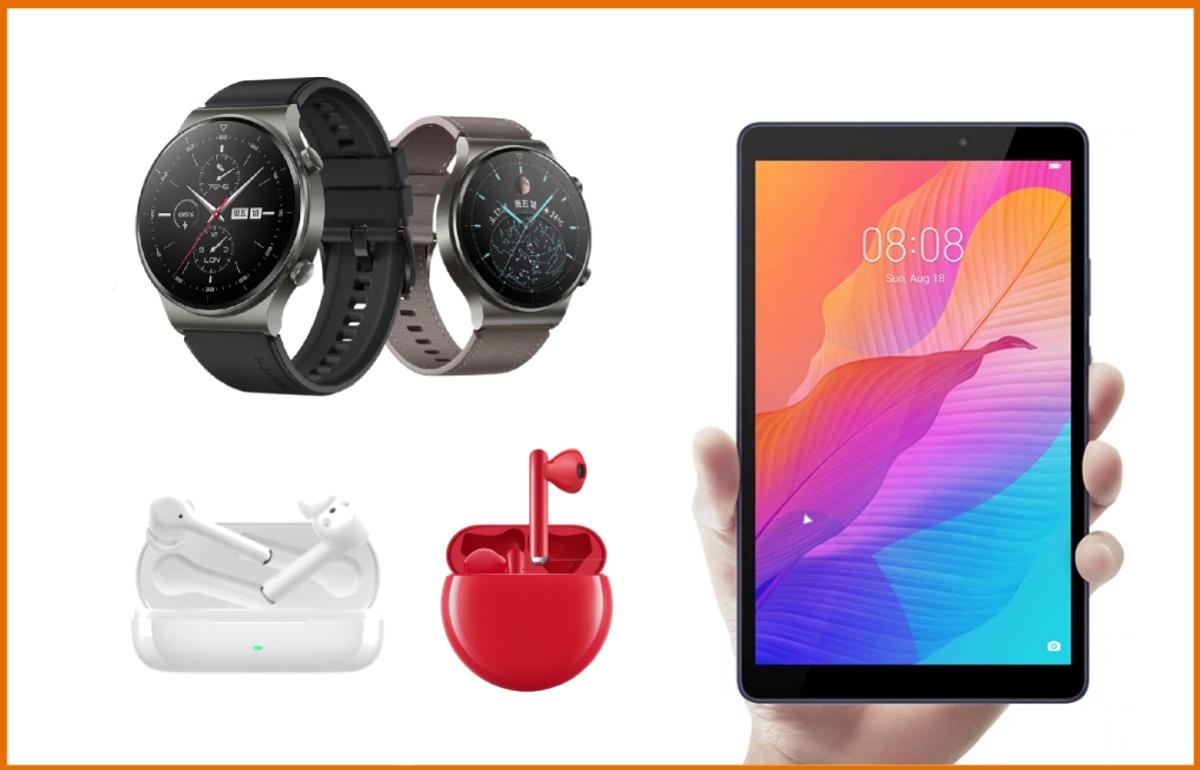Recíbelos en tres días: auriculares o 'smartwatches' de Huawei con descuentos de hasta el 45% en AliExpress