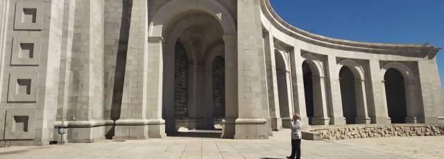 La arquitectura megalómana de Franco